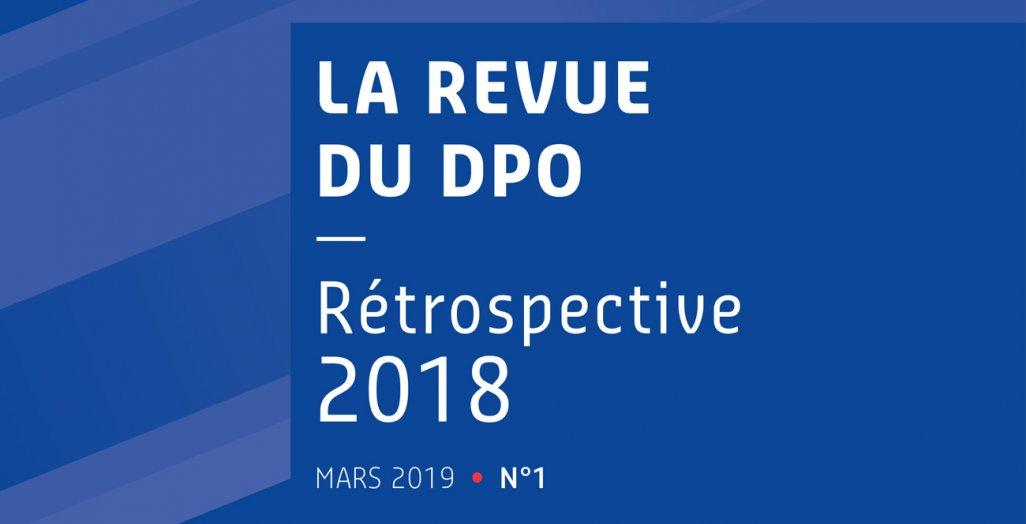 Couverture de la revue DU DPO édition 2019
